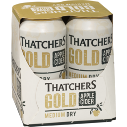 Photo of Thatchers Gold Apple Cider Cans