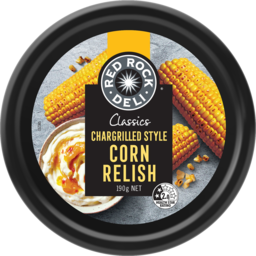 Photo of Red Rock Deli Classic Chargrilled Style Corn Relish Dip 190g