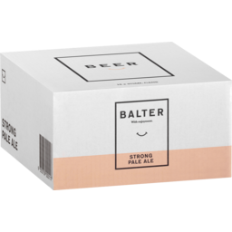 Photo of Balter Strong Pale Ale 375ml 16 Pack