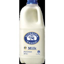 Photo of Riverina Fresh Full Cream Milk 2L Bottle