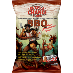 Photo of Snacka Changi Chips Snacka Changi Potato Chips Kettle Fried Barbecue 150g