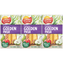 Photo of Golden Circle Golden Pash Fruit Drink with Vitamin C  6 x250ml