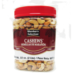 Photo of Member's Selection Cashews Roasted & Salted