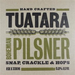 Photo of Tuatara Bohemian Pilsner 12 Pack