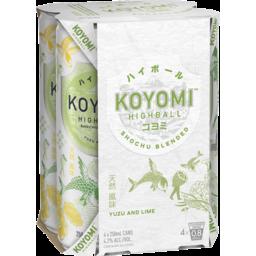 Photo of Koyomi Yuzu & Lime Can