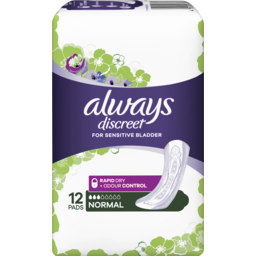 Photo of  Always Discreet Normal 12 Pads