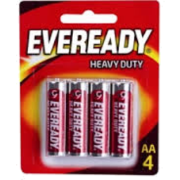 Photo of Eveready Red Hd Aa 1015 4pk