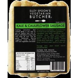 Photo of Suzy Spoon's Vegetarian Butcher Sausages - Kale & Cauliflower