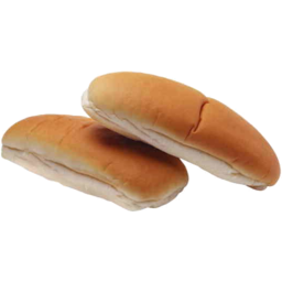 Photo of Eig Wht Hotdog Rolls X6 180g