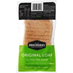 Photo of Bakeworks Gluten Free Bread Original 510g