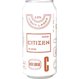 Photo of Citizen Beer Light Lager 440ml