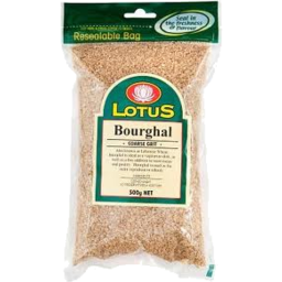 Photo of Lotus - Bourghal Coarse - 375g