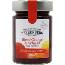 Photo of Beerenberg Blood Orange & Whisky For Cheese 190g