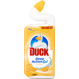 Photo of Duck Deep Action Gel Citrus 750ml