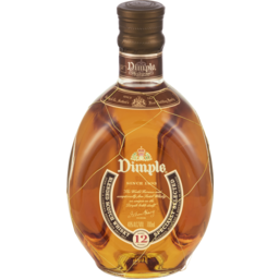 Photo of Dimple Aged 12 Years Blended Scotch Whisky Bottle