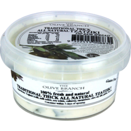 Photo of Olive Branch Traditional Thick Natural Tzatziki 200gm