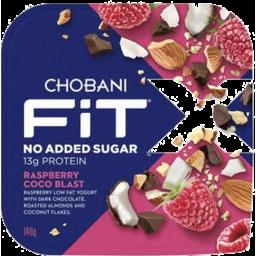 Photo of Chobani Fit X Raspberry Coco Blast 140g