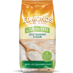 Photo of Edmonds Flour Gluten Free Self Raising 750g