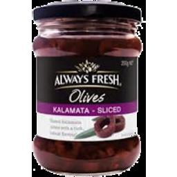 Photo of Always Fresh Kalamata Sliced Olives