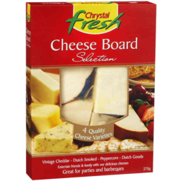 Photo of Chrystal Fresh Cheese Board Selection 275gm
