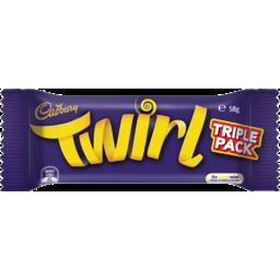 Photo of Cadbury Twirl Triple Pack 58gm