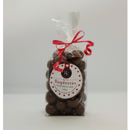 Photo of The Good Grocer Collection Chocolate Milk Raspberry 200g