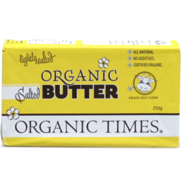 Photo of Organic Times Butter - Salted
