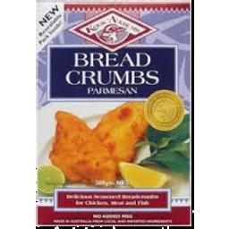 Photo of Kookakrumb Breadcrumbs Parmesan (200g)