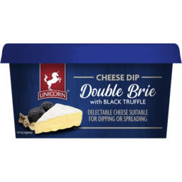 Photo of Unicorn Chees Dip Double Brie with Black Truffle 150gm