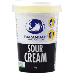 Photo of Barambah Organics Sour Cream 200g
