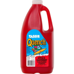 Photo of Tassie Quench Apple & Raspberry Cordial 2L