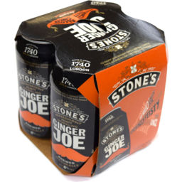 Photo of Stones Ginger Joe Can 4pk