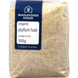 Photo of Wholefoods House Psyllium Husk Organic 500g