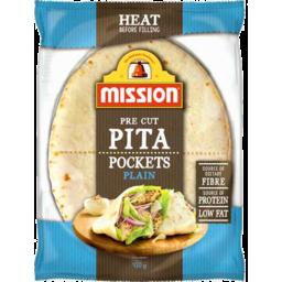 Photo of Mission Pita Pockets Plain 420gm