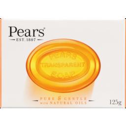 Photo of Pears T/Soap Trans Bath 125gm