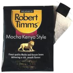 Photo of Robert Timms Coffee Bags Mocha Kenya 8 Pack