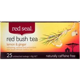 Photo of Red Seal Tea Bags Lemon & Ginger 25 Pack