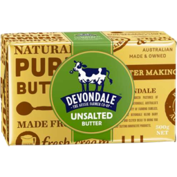 Photo of Devondale Unsalted Butter 500gm