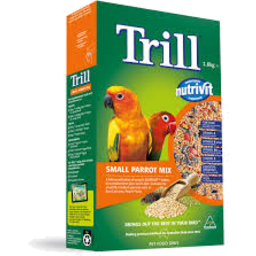 Photo of Trill Dry Bird Seed Small Parrot Mix 1.8kg Box