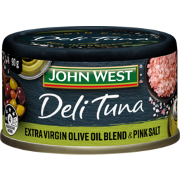 Photo of John West Deli Tuna Olive Oil & Pink Salt 90g