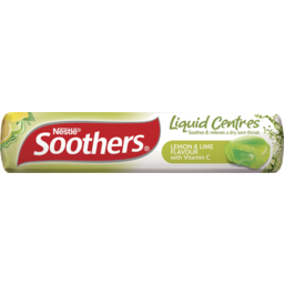 Photo of Soothers Liquid Centred Lozenges Lemon & Lime 10pk 50g 50g