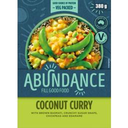 Photo of Mccain Abundance Fill Good Food Coconut Curry With Brown Basmati 380g