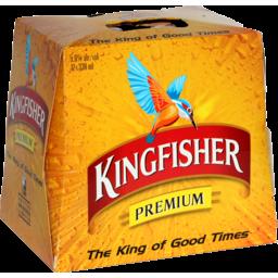 Photo of Kingfisher Premium 330ML Bottles 12 Pack
