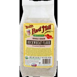 Photo of Bob's Red Mill Organic Whole Grain Buckwheat Flour