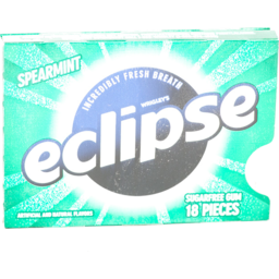 Photo of Wrigley's Eclipse Sugarfree Gum Spearmint - 18 Ct