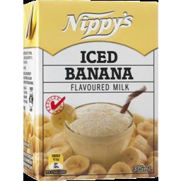 Photo of Nippy's Iced Banana Flavoured Milk 375ml