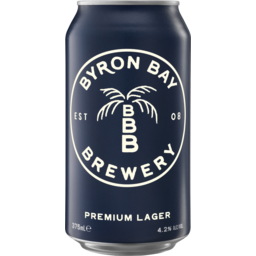 Photo of Byron Bay Premium Lager Can