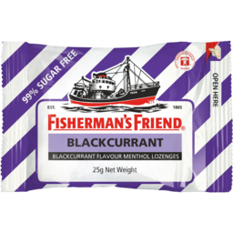Photo of Fisherman's Friend Blackcurrant Sugar Free 25gm