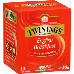 Photo of Twinings English Breakfast 10 Pack Teabags