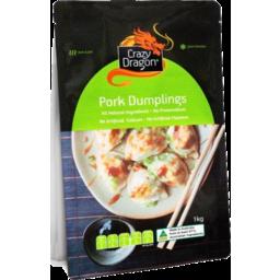 Photo of Crazy Dragon Pork Dumplings 1kg